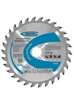 products/Пильный диск по дереву 210 x 32/30 x 24Т GROSS
