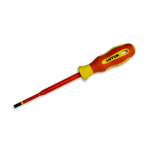 products/Отвертка диэлектрическая 1х5.5х125 мм, SHTOK 09314