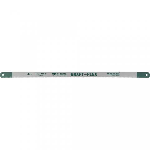 "products/Полотно KRAFTOOL 15942-18-S2 ""KRAFT-FLEX"" по металлу, Bi-Metal, 18TPI, 300 мм, 2 шт"