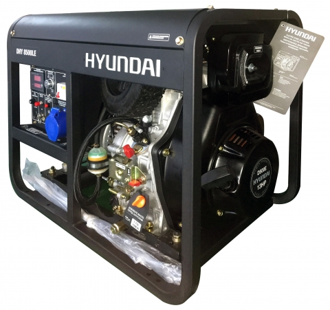 products/Генератор дизельный Hyundai DHY 8500LE