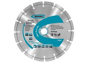products/Диск алмазный ф150х22,2мм, лазерная приварка сегментов, сухое резание GROSS