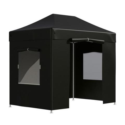 products/Тент-шатер садовый быстро сборный Helex 4322 3x2х3м полиэстер черный