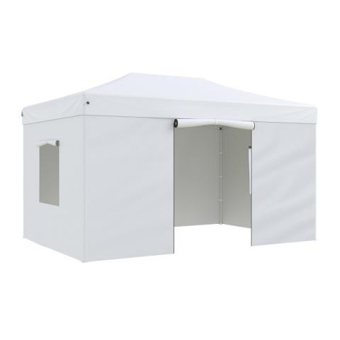 products/Тент-шатер садовый быстро сборный Helex 4335 3x4,5х3м полиэстер белый