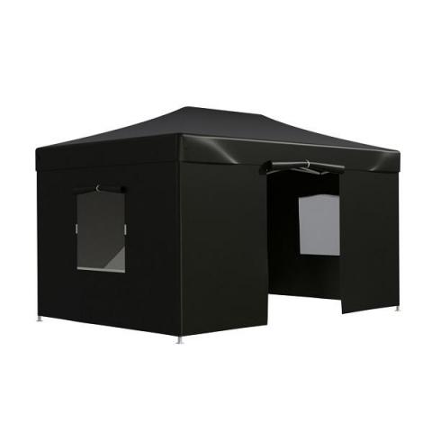 products/Тент-шатер садовый быстро сборный Helex 4342 3x4,5х3м полиэстер черный