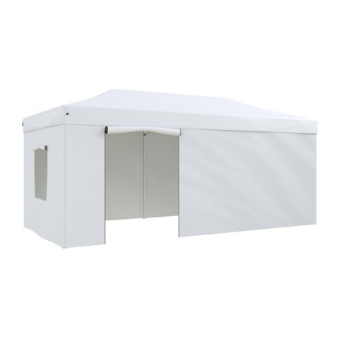 products/Тент-шатер садовый быстро сборный Helex 4360 3x6х3м полиэстер белый
