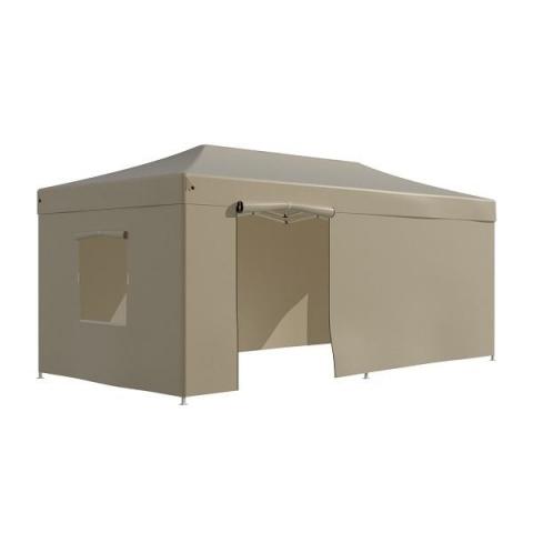 products/Тент-шатер садовый быстро сборный Helex 4362 3x6х3м полиэстер бежевый