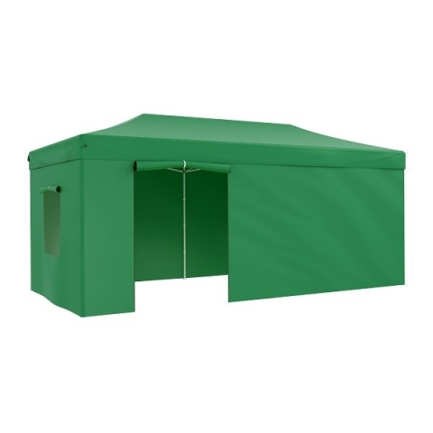 products/Тент-шатер садовый быстро сборный Helex 4366 3x6х3м полиэстер зеленый