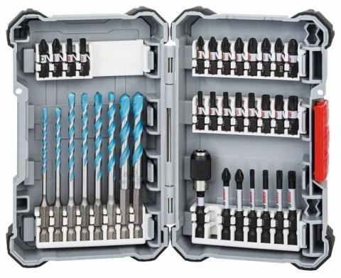 products/Набор ударных бит и универсальных сверл (кейс L) 35 предметов Bosch 2608577147