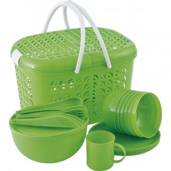 products/Набор для пикника на 6 персон, 38 предметов palisad camping