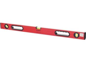 products/Уровень алюминиевый, 1000 мм, фрезерованный, 3 глазка (1 поворотный), две ручки, усиленный MATRIX