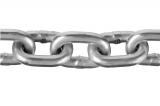 Цепь короткозвенная, DIN 766, оцинкованная сталь, d=6мм, L=30м, ЗУБР Профессионал 4-304050-06
