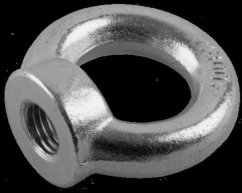 products/Рым-гайка DIN 582, М20, 4 шт, оцинкованная, ЗУБР Профессионал 4-304325-20