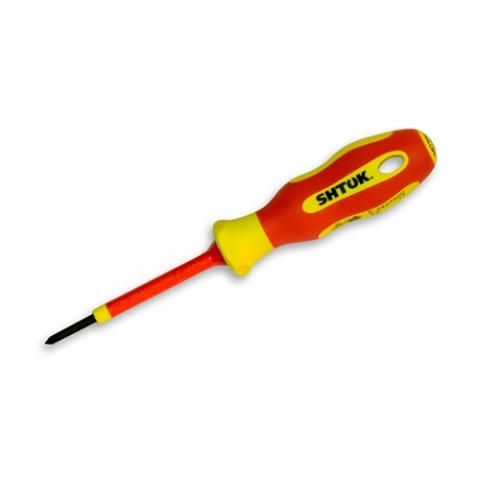 products/Отвертка диэлектрическая Ph0х60 мм, SHTOK 09316