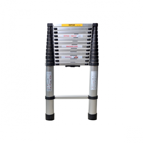 products/Лестница телескопическая 3.8м (без чехла) SHTOK 20014