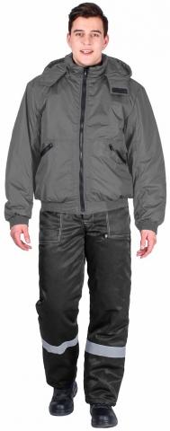 products/Куртка демисезонная Бомбер (тк.Дюспо), серый