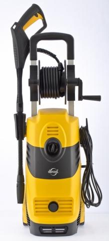 products/Моечная машина высокого давления DENZEL HPС-1600, 1600 Вт, 125 бар, 5,5 л/мин, колесная (арт. 58207)