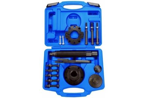 products/Набор оправок для монтажа и демонтажа ступичных подшипников FORD, кейс, 17 предметов МАСТАК 100-30017C