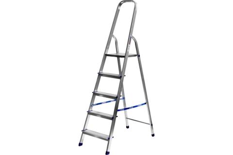 products/Лестница-стремянка СИБИН алюминиевая, 5 ступеней, 103 см 38801-5