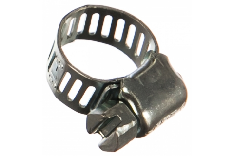 products/Хомуты оцинкованные, просечная лента 8 мм, 8-13 мм, 200 шт, ЗУБР 37803-08-13-200