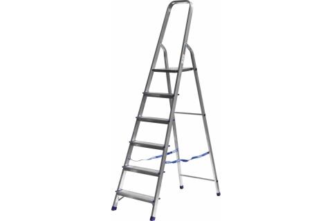products/Лестница-стремянка СИБИН алюминиевая, 6 ступеней, 124 см 38801-6