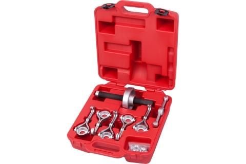 products/Набор для демонтажа ступиц колеса, до 250 мм, кейс, 7 предметов МАСТАК 100-41007C