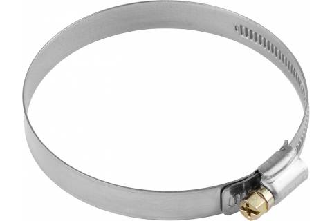 products/Хомуты, нерж. сталь, накатная лента 12 мм, 80-100 мм, 50 шт, ЗУБР Профессионал 37822-80-100-50