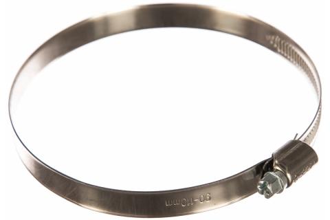 products/Хомуты, нерж. сталь, накатная лента 12 мм, 90-110 мм, 50 шт, ЗУБР Профессионал 37822-90-110-50