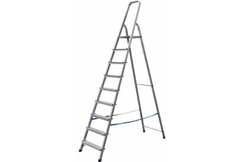 products/Лестница-стремянка СИБИН алюминиевая, 9 ступеней, 187 см 38801-9