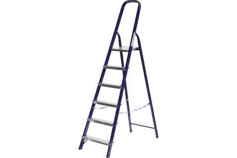 products/Лестница-стремянка СИБИН стальная, 6 ступеней, 124 см 38803-06