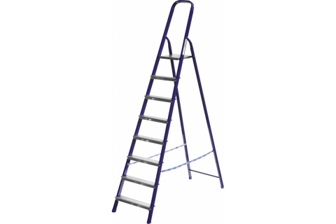 products/Лестница-стремянка СИБИН стальная, 8 ступеней, 166см 38803-08