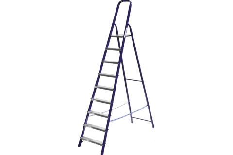 products/Лестница-стремянка СИБИН стальная, 9 ступеней, 187см 38803-09