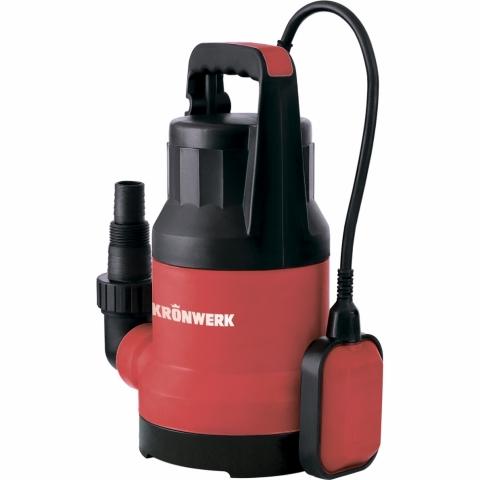 products/Дренажный насос Kronwerk KP300, 300 Вт, подъем 6 м, 7000 л/ч (арт. 97229)