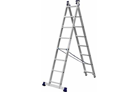 products/Лестница СИБИН универсальная, двухсекционная, 8 ступеней 38823-08