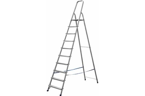 products/Лестница-стремянка СИБИН алюминиевая, 10 ступеней, 208 см 38801-10