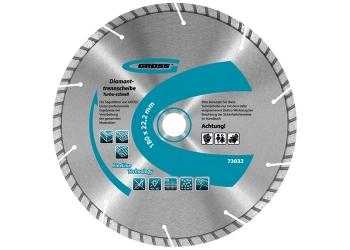 products/Диск алмазный ф115х22,2мм, турбо с лазерной перфорацией, сухое резание GROSS