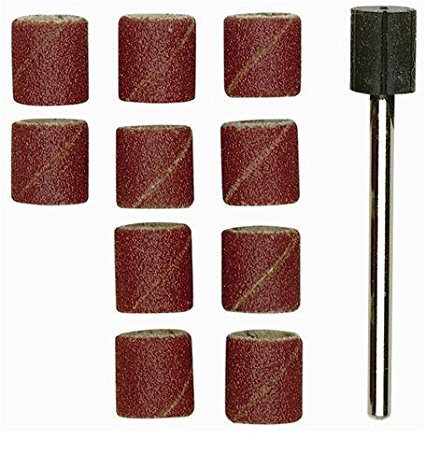 products/Шлифовальные цилиндры с дискодержателем (10шт., зерн.К 120, диам. 14 мм)