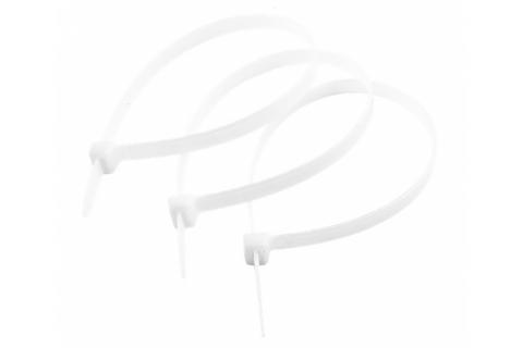 products/Кабельные стяжки белые КС-Б1, 12 x 750 мм, 50 шт, нейлоновые, ЗУБР Профессионал 309010-12-750