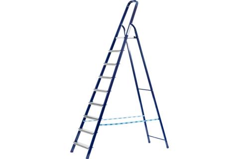 products/Лестница-стремянка СИБИН стальная, 10 ступеней, 208 см 38803-10