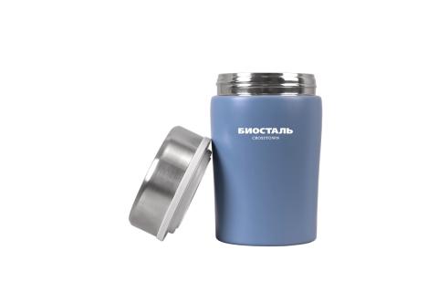 "products/Термос ""БИОСТАЛЬ-CROSSTOWN"" с широкой горловиной, цвет СИНИЙ, 0,5л. NTD-500B"