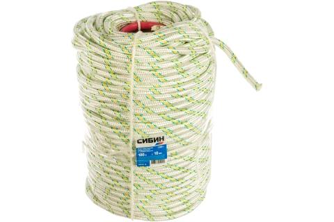 products/Фал плетёный капроновый СИБИН 24-прядный с капроновым сердечником 50220-10