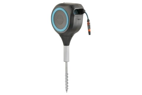 products/Катушка со шлангом свободного размещения автоматическая GARDENA RollUp M (голубой цвет) 18614-20.000.00
