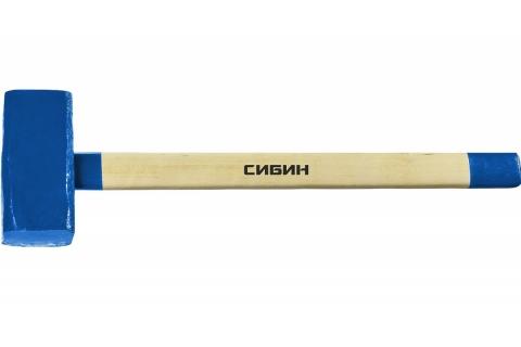 products/СИБИН 10 кг кувалда с деревянной удлинённой рукояткой 20133-10