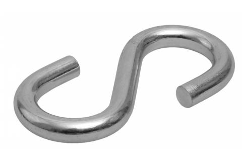products/Крюк S-образный, 10мм, 20 шт, оцинкованный, ЗУБР 4-304565-10