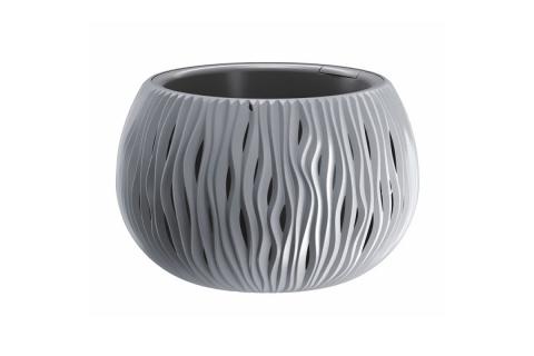 products/Кашпо для цветов Prosperplast SANDY BOWL серый, арт. DSK240-405U