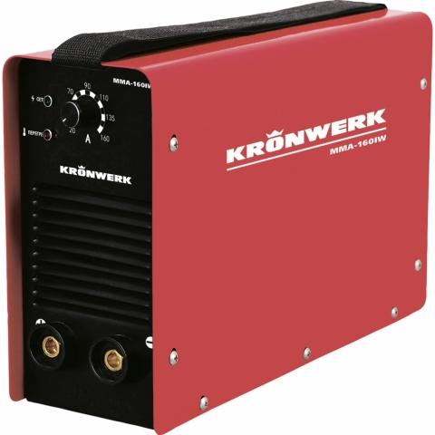 products/Аппарат инверторный Kronwerk MMA-180IW, 180 А, ПВР 60%, диам. эл. 1,6-4 мм, провод 2 м (арт. 94342)