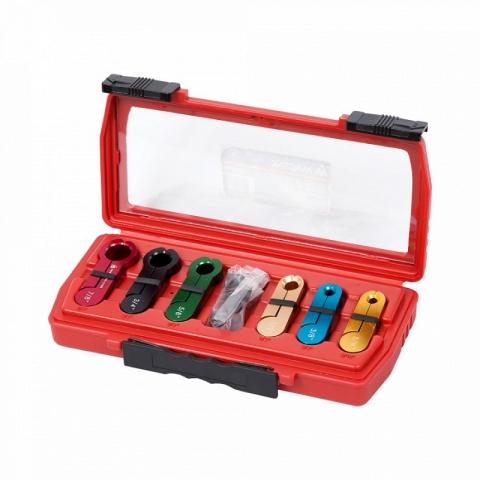 products/105-01006C, МАСТАК Набор размыкателей для топливной системы, кейс, 6 предметов