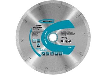 products/Диск алмазный ф115х22,2мм, сплошной c лазерной перфорацией, мокрое резание GROSS