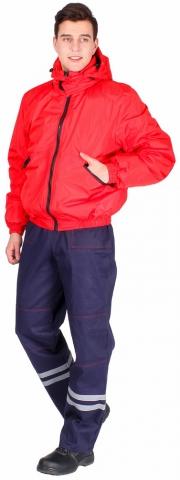 products/Куртка демисезонная Бомбер (тк.Дюспо), красный