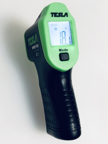 products/Пирометр Tesla IT600 (от -50ºС до 600ºС) точность +2ºС, с лазерным прицелом