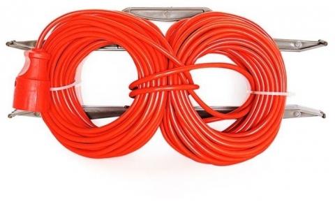 products/Удлинитель силовой на рамке GLANZEN штепс. Гнездо ПВС 2*0.75 30 м арт. ER-30-001